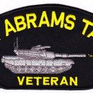 M-1 Abrams Tank Veteran HAT PATCH ONLY