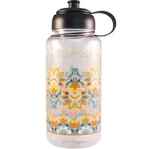 Ankit Fleur de Lis Sports Water Bottle ,Gym and Tonic BPA Free (35 oz)