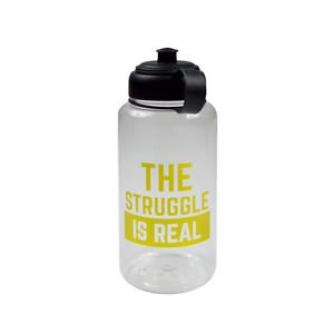 Ankit The Struggle is Real Sports Bottles Gym and Tonic BPA Free 35 Oz Plastic