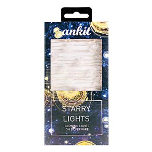 Ankit Moon and Stars String Lights Led Indoor Firefly Lights Xmas(25 LEDs 10 Ft)