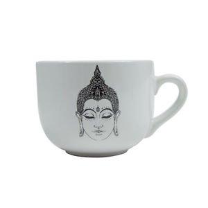 Ankit Buddha Round Coffee Mug Funny Novelty Fun With Sayings Quote Gifts