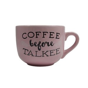 Ankit Coffee Talkee Coffee Mug Funny Novelty Fun With Sayings Quote Gifts