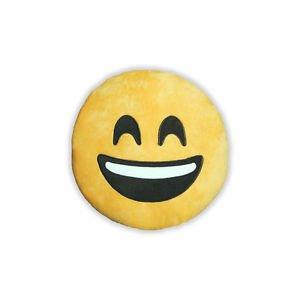 """Ankit Smiley Emoji Couch Throw Pillow, Decorative Pillows Throw  (13""""x 13"""")"""