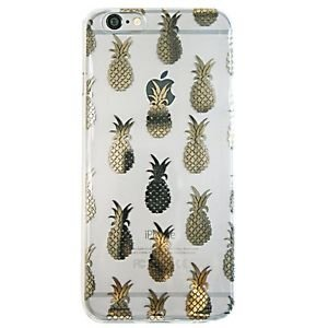 Ankit Foil Pineapple Anti Shock Case for iPhone 6 Plus , Lightweight