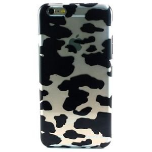 Ankit Cow Print Flower Anti Shock Case for iPhone 6, Lightweight, 4.7 inch