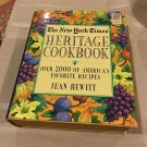 New York Times Heritage Cookbook by Jean Hewitt 1972 (1995 Edition) FREE US Shipping