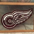 Stained Glass Detroit RedWings  Art