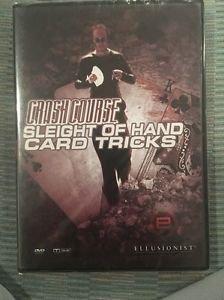Ellusionist Crash Course Sleight Of Hand Card Tricks Dvd