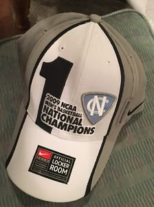Official Locker Room Cap North Carolina National Champs Hat