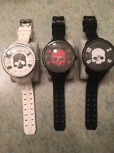 Tendence Gulliver Skull Face Watches 100% Authentic