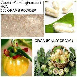 PURE RAW Garcinia Cambogia extract 60,000mg 600G ORGANIC 60%HCA weight loss
