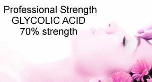 BULK Wholesale GLYCOLIC ACID Bulk 70% Pro Strength Acne age spots Wrinkles
