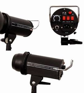 Pro Quality 200 w/s Strobe METAL BODY photography flash light lighting studio