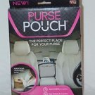 Purse Pouch Organizer As Seen on TV Black Car Accessory holder