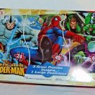 Spider man Panorama 135 piece Puzzle Marvel Collection Tin Box  (3 in 1)
