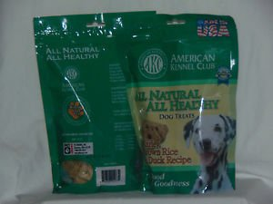 Pet Brands 12 oz Brown Rice Dog Treats w/Duck Flavor AKN029 Ready to Ship
