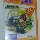 FISHER-PRICE IXL LEARNING SYSTEM SOFTWARE GREEN LANTERN 3D GAME DISC + GLASSES