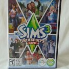 The Sims 3: University Life (Windows/Mac, 2013) PC Complete Expansion Pack