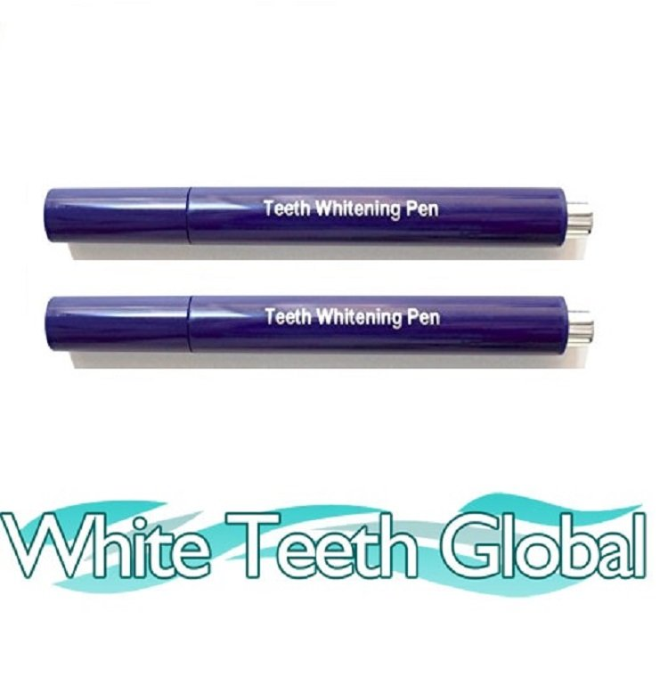 Teeth Whitening 22% Carbamide Peroxide Gel Pens 60 Day Supply 2-P