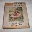1909 A Child's Garden Of Verses by Robert Louis Stevenson