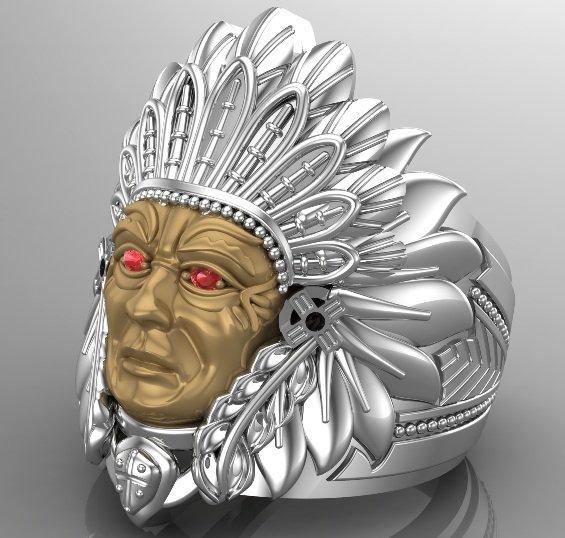 Men's Indian Heritage Ring