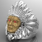 Men's Indian Heritage Ring