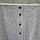 ORVIS Women's Black/White Check Wool Tweed Skirt Long Size 12 Fully Lined
