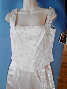 Alyce Designs Dress Formal or Wedding Pink NWT New Prom Ball Christmas