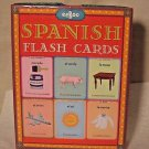 Spanish Language Flashcards Elementary Homeschool Spanish Vocabulary Illustrated