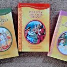 Wizard Oz Beauty and Beast Alice in Wonderland Treasury of Illustrated Classics