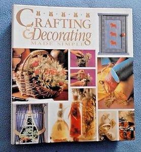 Crafting and Decorating Made Simple (1996, Hardcover) Unused Vintage DIY HTF