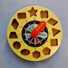 Melissa and Doug Shape Sorting Clock Replacement Piece Clock Face