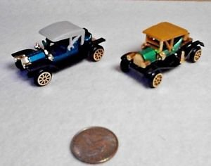 Antique Cars High Speed Reader's Digest Lot 2 Ford Model T and REO - RARE w/Box
