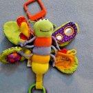 Lamaze Freddie The Firefly Baby Developmental Toy Infant Teether, Texture  EUC