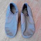 Child Size 11-½  Flex Sole Leather Upper Jazz / Hip Hop Dance Shoes Beige Nude