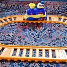 Shelcore Train And Tracks Fisher Price Little People and Dalmatian Dog