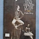 Great Male Dancers of the Ballet by Walter Terry (1978, Paperback) Ex- Library