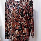 Maggie Barnes Lightweight suit jacket Long Sleeves, Button down Womens L or XL