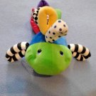 Kids II Fish Baby Developmental Toy Infant Toy Texture Rings Color Bell Inside
