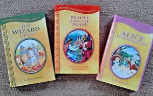 LOT Dorothy Wizard of Oz / Beauty & Beast / Alice in Wonderland Illustrated