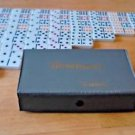 Cardinal Premier Ed. Double Nine Jumbo Color Dot Dominoes COMPLETE SET 55 w/Case