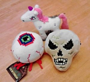 NWT TERRARIA UNICORN & EYE OF CTHULHU & SKELETRON PLUSH  free ship