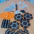 Hex Bug Nano Habitat Elevation Set Glow in the Dark LOT Black Orange Clear White