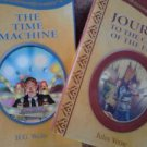 Science Fiction Hardcover Time Machine & Journey to Center of the Earth LOT 2
