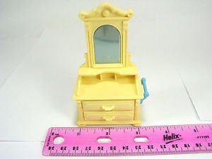 PLAYMOBIL Victorian Mansion Dollhouse furniture dresser mirror bedroom
