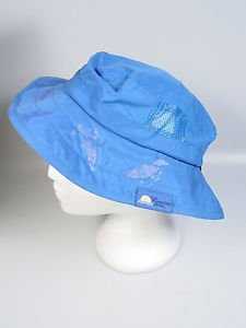 Childs Sun Protection hat UPF 50+ Wide Brim  Sun Hat Blue Safari style