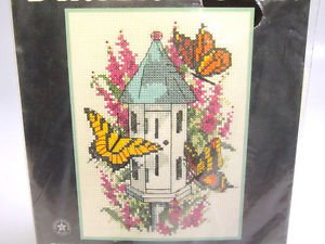 Dimensions counted cross stitch kit butterfly home 6720 1996