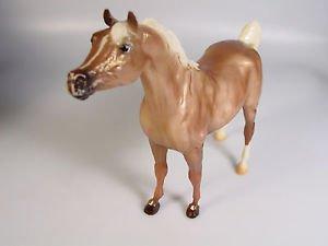 Breyer Palomino Horse Metallic Snowflake Classic toy horse figure 720033