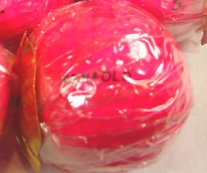 One Harrods Knightsbridge Penfold pink Golf ball Magenta advertising rare