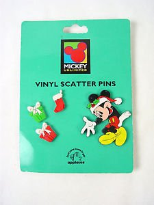 Mickey Mouse Christmas pins scatter  vinyl applause Mickey unlimited